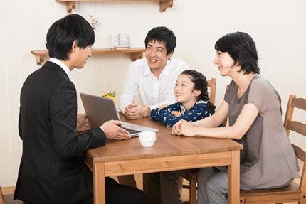不安な家族も安心